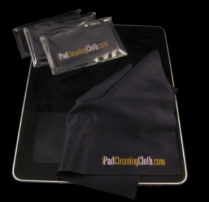 IPad Cleaning Cloth - Perfectly Sized to Clean all of your Full Size IPads